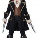 Size: Medium #00527 Disney Deluxe Pirate Captain Sparrow Buccaneer Child Costume