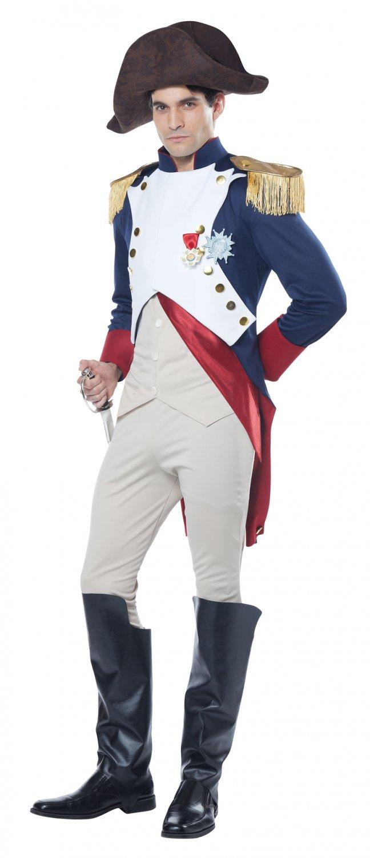 French Emperor Napoleon Bonaparte Adult Costume Size: Large #00836