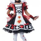 Alice In Wonderland Deluxe Queen of Hearts Child Costume Size: Medium #00373