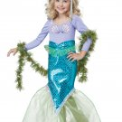 Ariel Magical Mermaid Toddler Costume Size: Large #00012