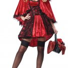 Sexy Dark Gothic Deluxe Red Riding Hood Adult Costume Size: Large #01300