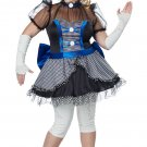 Phantom Gothic Twisted Baby Doll Adult Plus Size Costume: 2X-Large #01694