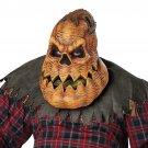 Standard Size #60278 Creepy Pumpkin Psycho Lantern  Halloween Adult Costume Mask