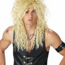 Guns and Roses Headbanger  Punkr Rock Star Adult Costume Wig #70386