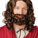 Biblical Jesus Wig and Beard Adult Costume #70754