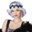 #70709   Glitz and Glamour 20's Fashion Flapper Adult Costume Wig & Headband