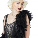 #70740  Glitz and Glamour 20's Fashion Flapper Adult Costume Wig & Headband