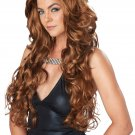 Sexy Vixen Hollywood Star Celebrity Glam Adult Costume Wig #70806_Light Brown