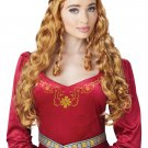 Renaissance Medieval Lady Guinevere Adult Costume Wig #70810
