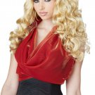 Hollywood Sexy Diva Shockwaves Adult Costume Blonde Wig #70847