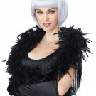20's Fashion Flapper Dancer Adult Costume White Lavender Gray Wig #70850