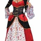 Queen of Hearts Alice In Wonderland Adult Costume Size: Standard #64092L