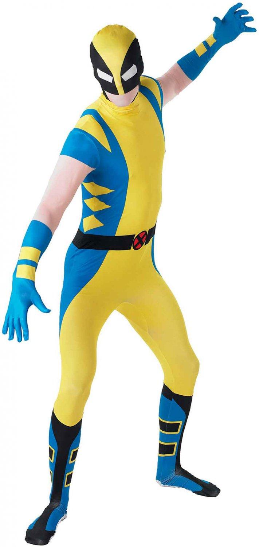 Marvel Universe Comic Wolverine X-Men  Adult 2nd Skin Costume Size: Medium #880827M