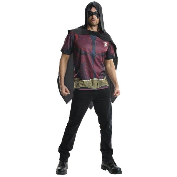 Gothic Batman Arkham City Robin Justice League Adult Costume Size: Large #88302L
