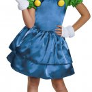 Luigi Girl Super Mario Brothers Child Boys Costume Size: Small #85166S