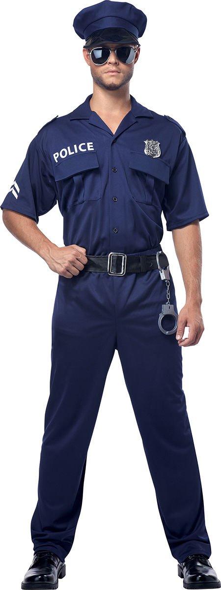 Swat Sheriff Police Officer Adult Costume Size: Medium #00923