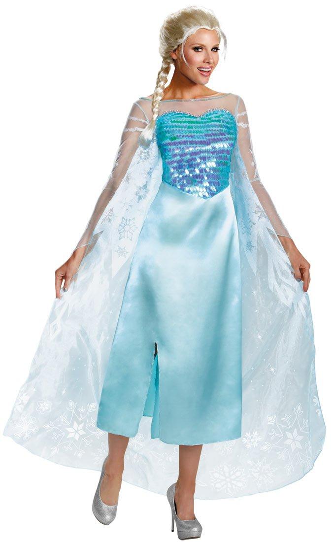 Disney Frozen Queen Elsa Princess Adult Costume Size: Medium #82832