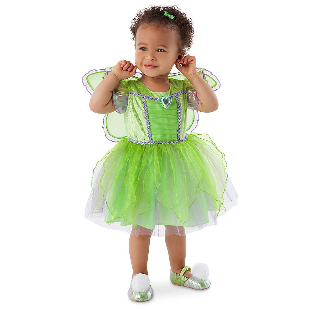 Size: 3-6 Months #Tinker36 Disney Fairy Princess Tinkerbell Deluxe Baby Costume