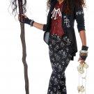 Size: Medium #04096 Mardi Gras Voodoo Charm Witch Doctor Tween Child Costume