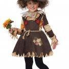 Size: Medium #00177 Wizard of Oz Pumpkin Patch Scarecrow Toddler Costume