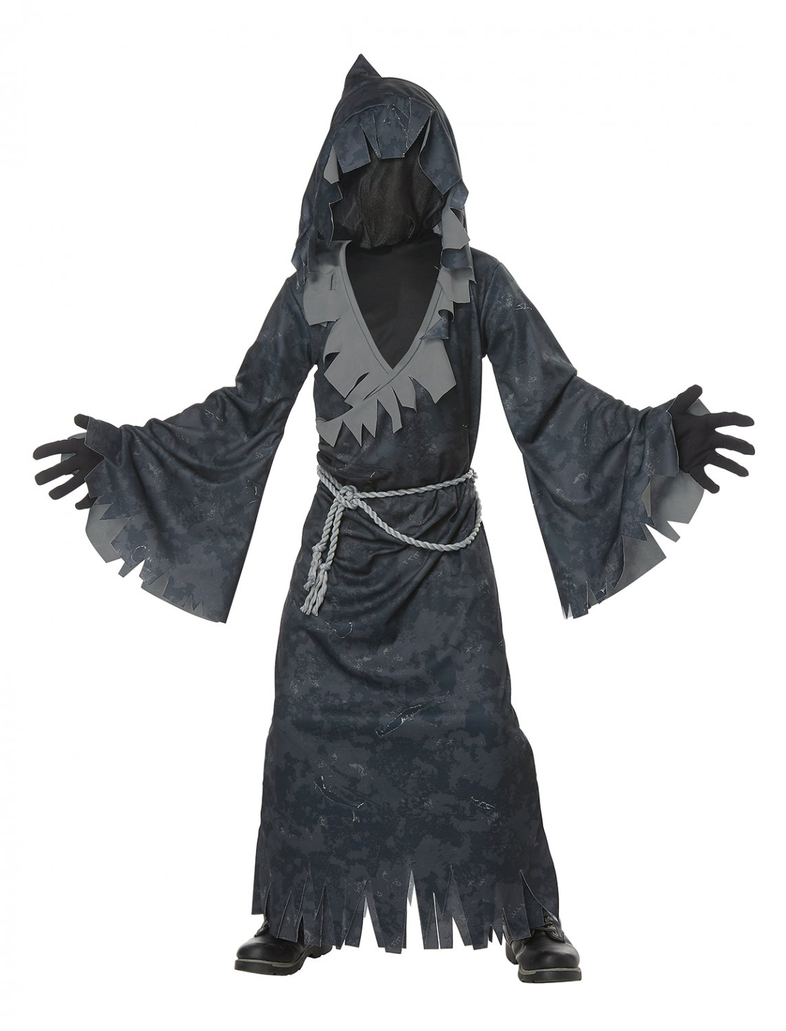 Size: Large/X-Large #00631 Dark Gothic Soul Eater Demon Reaper Child Costume