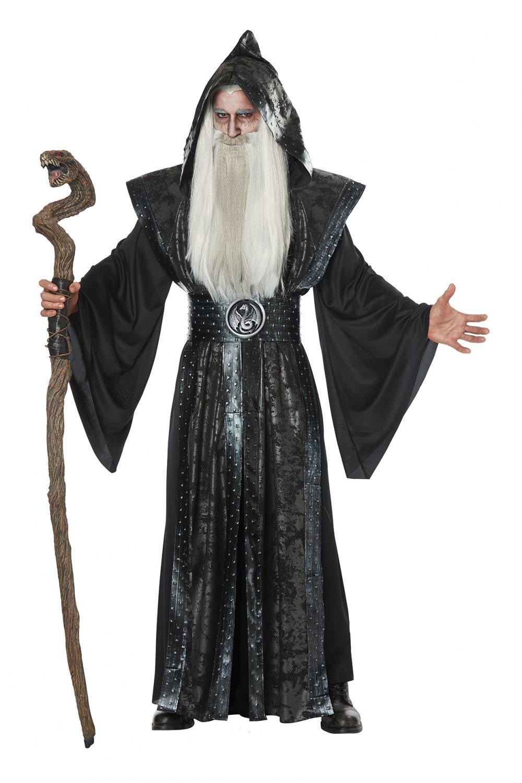 Size: Small/Medium # 01469 Magician DarK Wizard Game of Thrones Adult Costume
