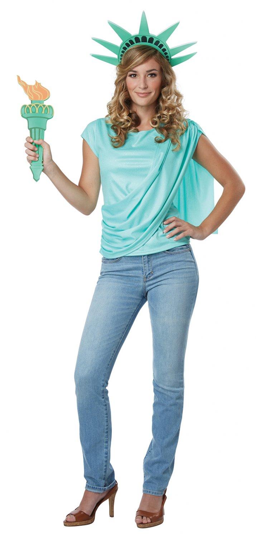 Patriotic Miss Statue of Liberty Adult Costume Size: Medium #60686