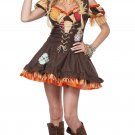 Dorothy Wizard of Oz Sassy Scarecrow Adult Costume Size: Small #01483