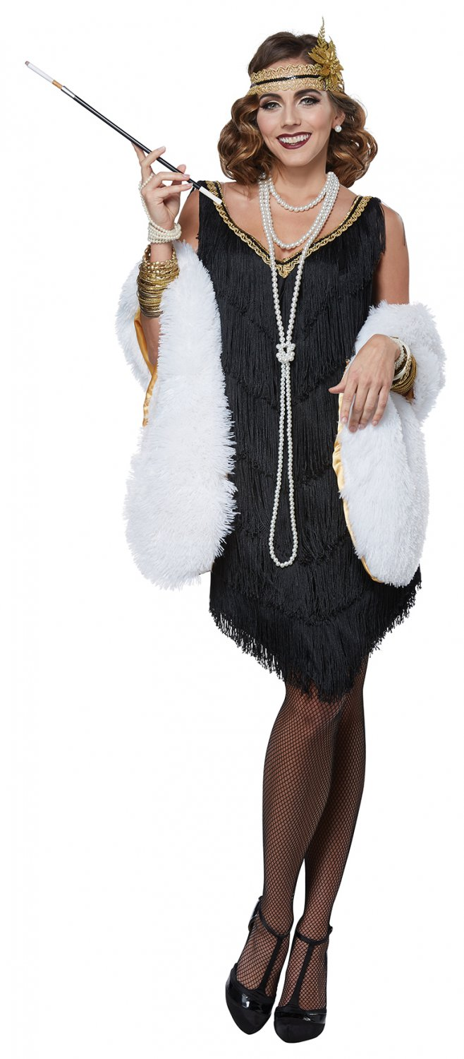 1920's  Mobster Fabulous Fashion Flapper Gangster  Adult Costume Size: X-Large #01481