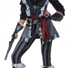 Sexy Captain Blackheart  Pirate Adult Costume Size: Small #01482