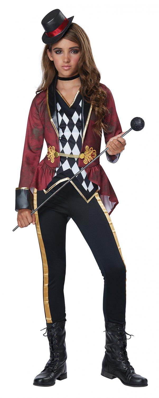 Size: X-Large #00637 Sexy Circus Ringmaster Child Costume