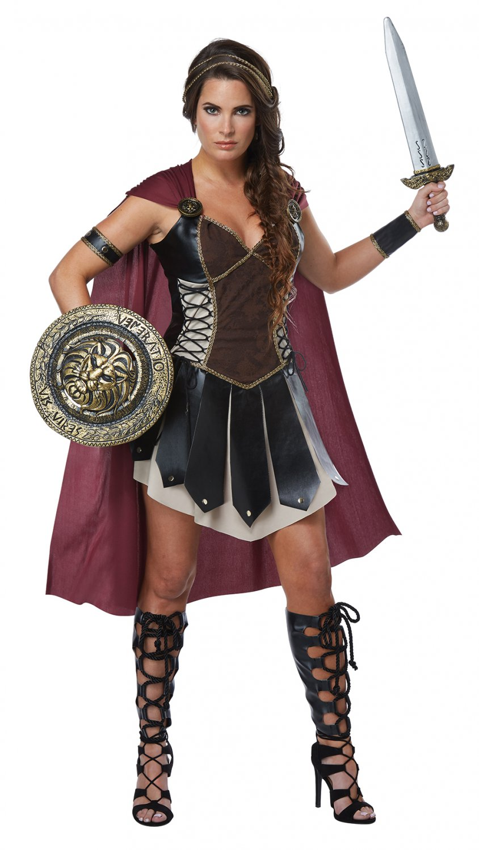 Size: Large #01433 Greek Trojan 300 Warrior Glorious Gladiator  Adult Costume