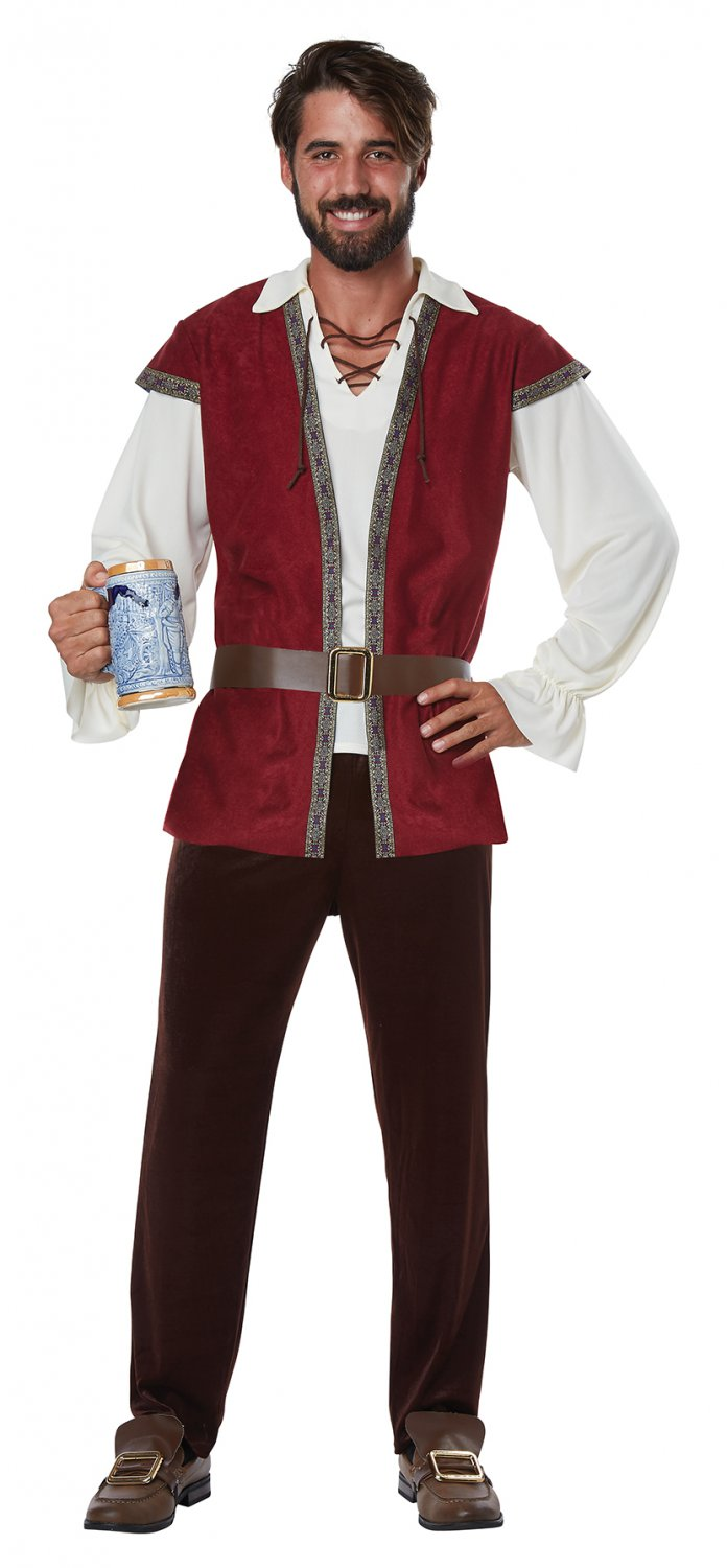 Size: Small # 1442 Renaissance Tavern Medieval Man Games of Thrones Adult Costume