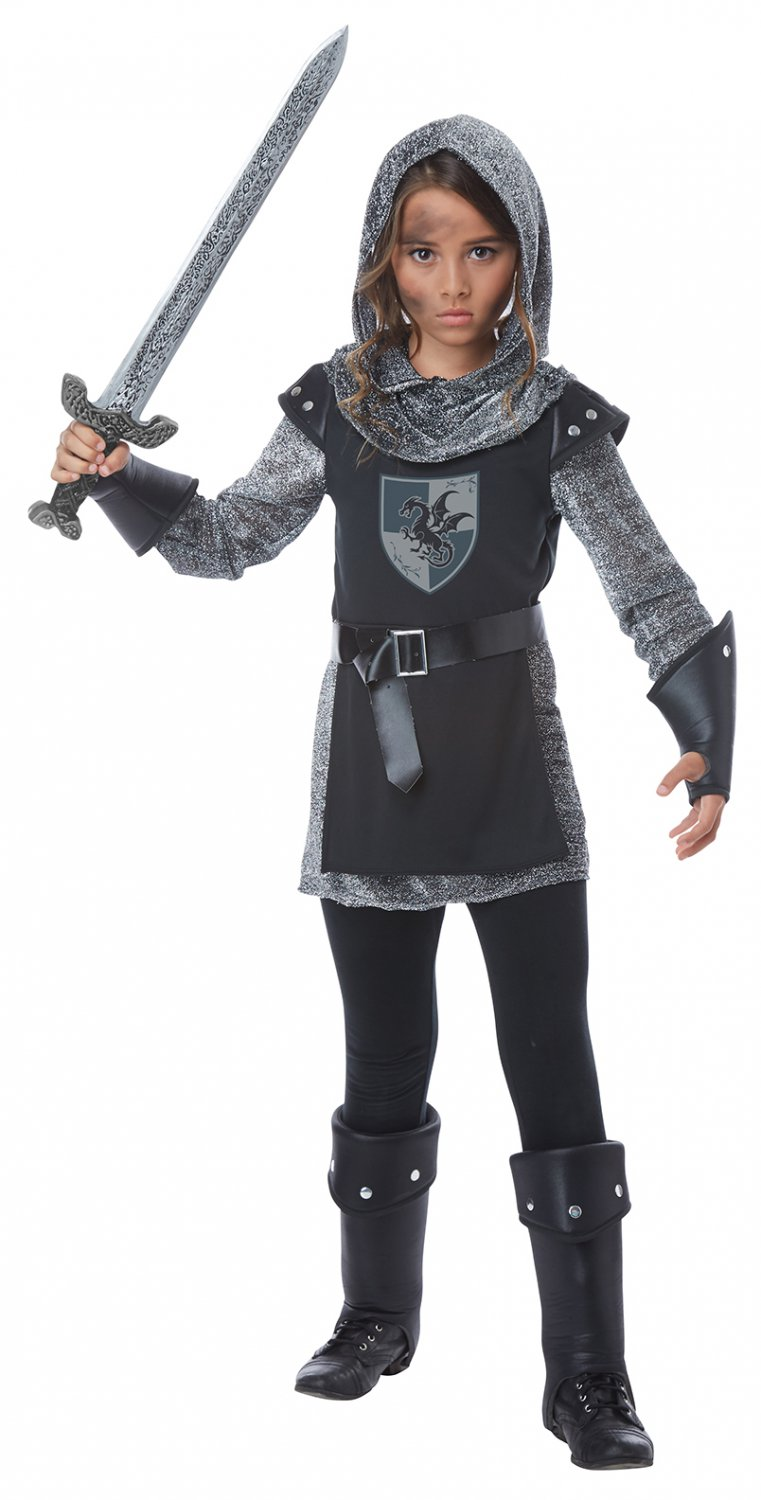 Size: Medium #00574 Renaissance Noble Knight Warrior Medieval Times Girl Child Costume