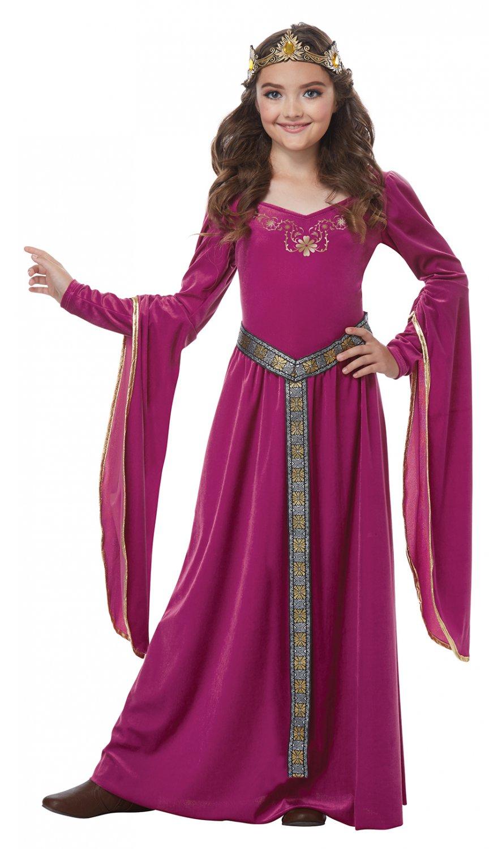 Size: Medium #00572 Game of Thrones Medieval Princess Renaissance  Girl Child Costume