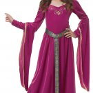 Size: Medium #00572 Game of Thrones Medieval Princess Renaissance  Girl Child Costume