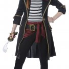 Size: Large #00583 Pirates of the Caribbean High Seas Captain Raider Girl Child Costume