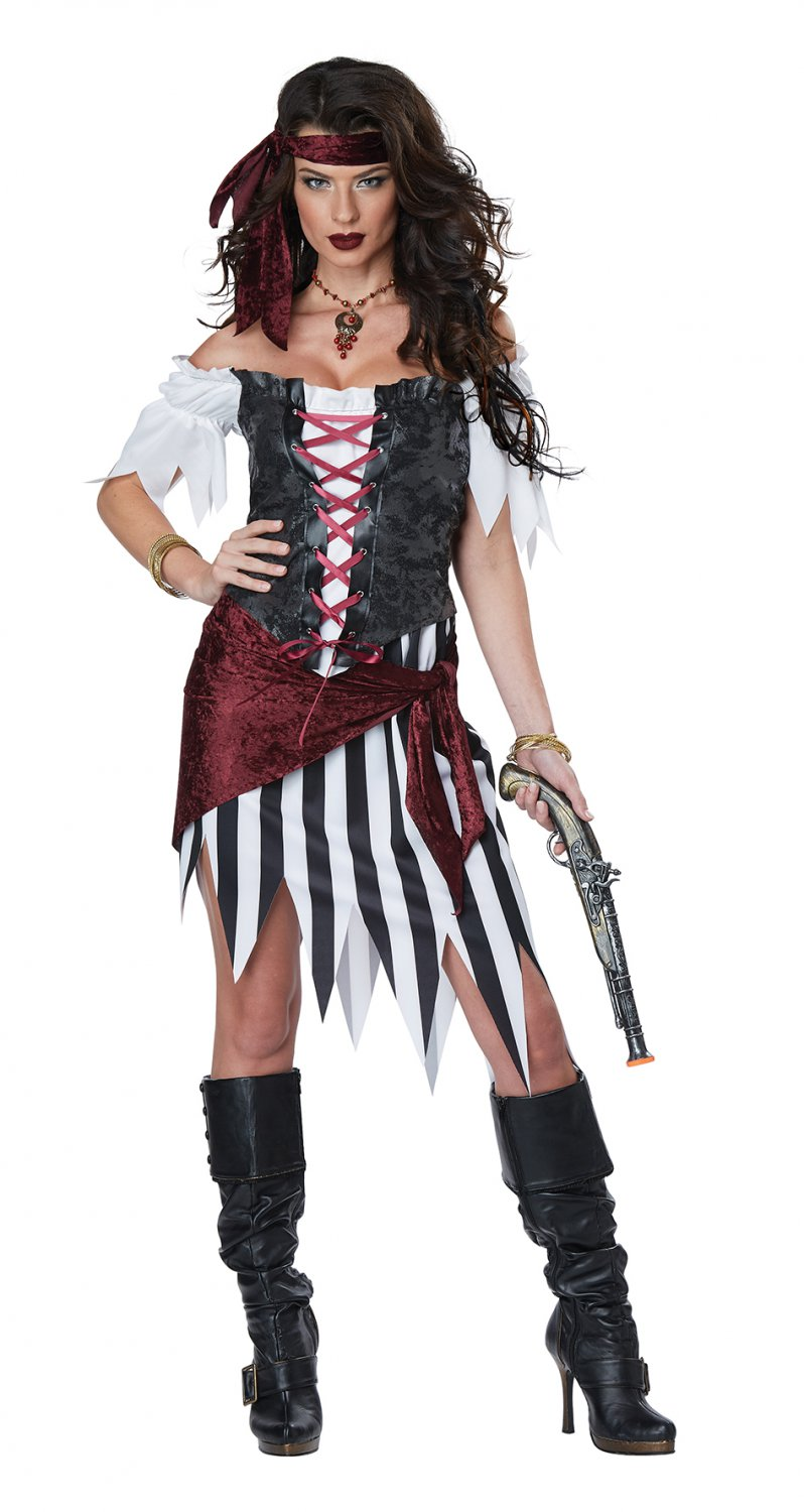 Size: Small #01441 Buccaneers Pirate Beauty Raider Adult Costume
