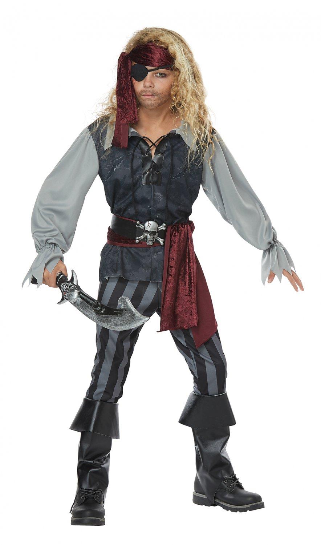Size: Medium #00634 Sea Scoundrel Pirate Buccaneers Raider Child Costume