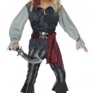 Size: Medium #00634 Sea Scoundrel Pirate Buccaneers Raider Child Costume
