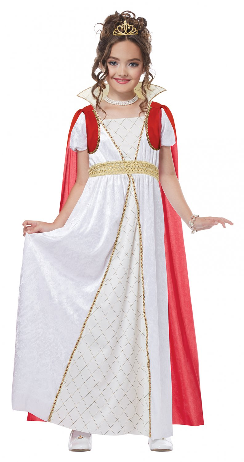 Size: X-Large #00561  French Revolution Imperial Empress Princess Child Costume