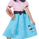 Size: Medium #00626  50's Sock Hop Dress Sandy Grease Child Costume