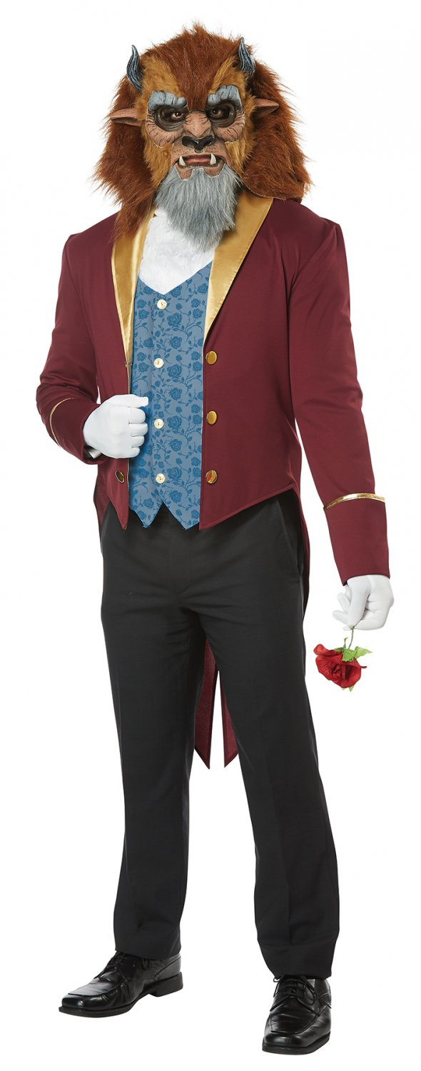 Size: X-Large # 1463 Disney Beauty and the Beast Storybook Adult Costume