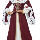 Size: Small #01460 Royal Storybook Queen of Heart Renaissance Adult Costume