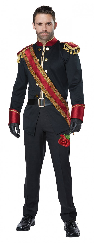 Size: Medium # 1465 Dark Prince Charming Storybook Huntsman Disney Adult Costume