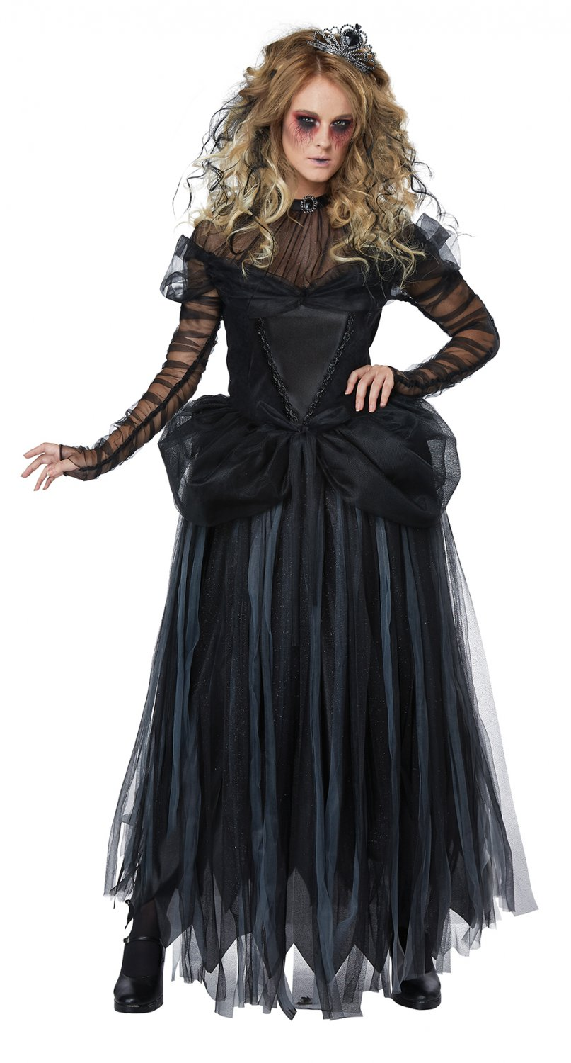 Size: Medium #01457 Gothic Dark Princess Adult Costume