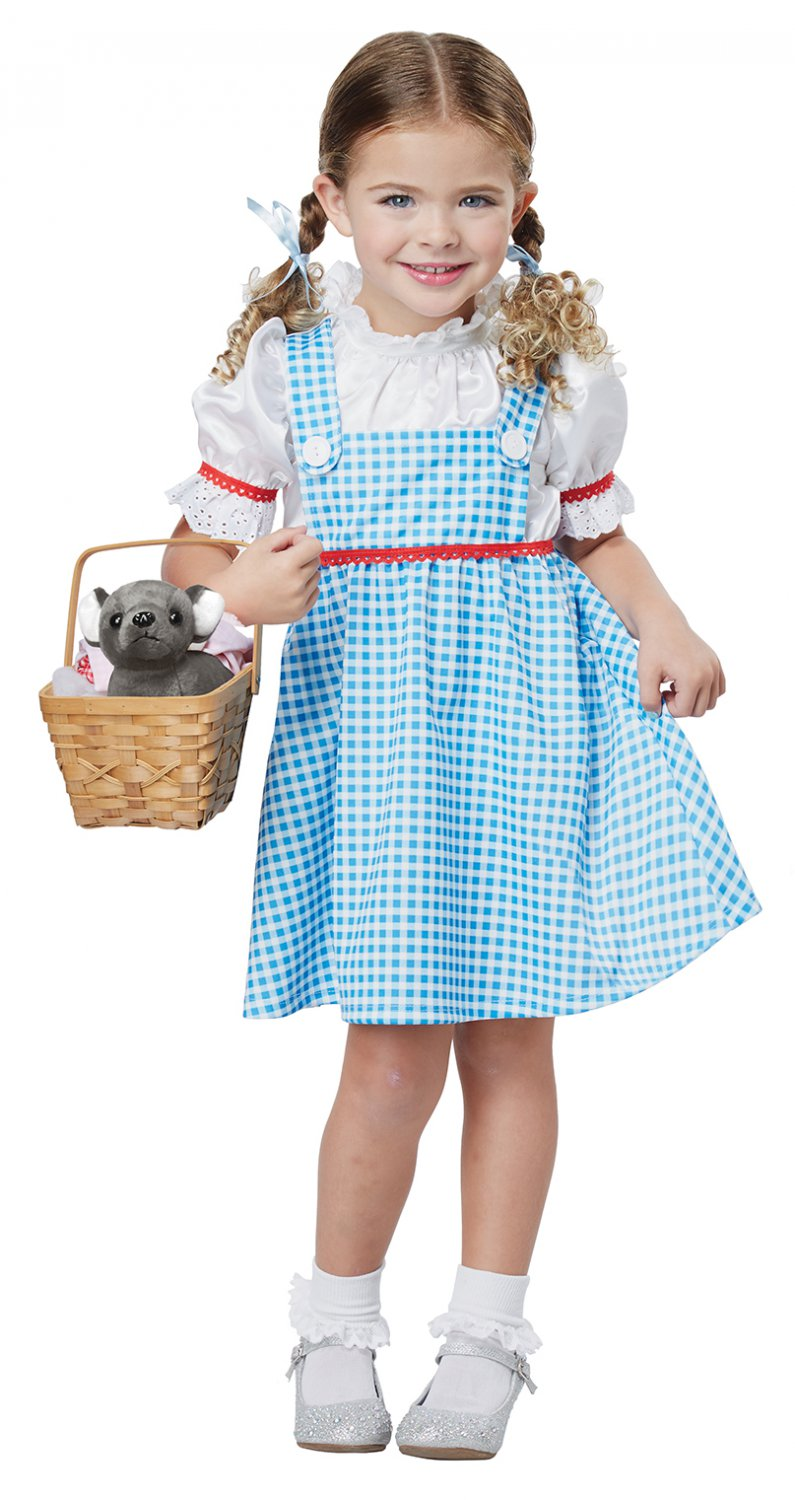 Size: Medium #00181 Wizard of Oz Dorothy Toddler Child Costume