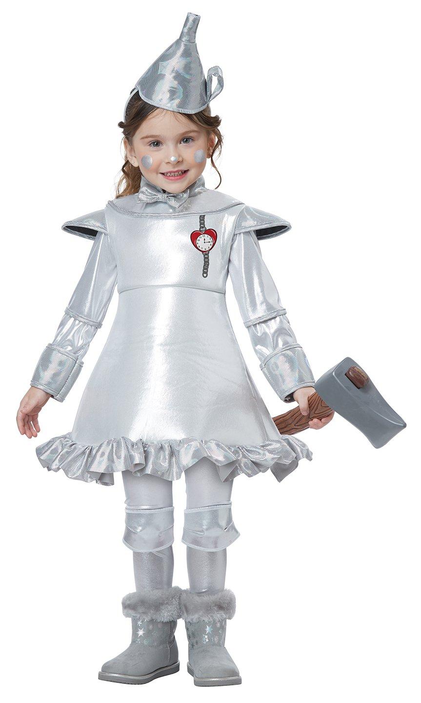 Size: Large #00182 Girl Wizard of Oz Tin Man Toddler Child Costume