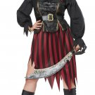Plus Size: 2X-Large  #01770  Buccaneers Queen of the High Seas Pirate Raider Adult Costume