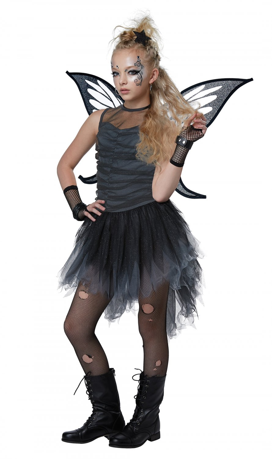 Size: Large #00636 Gothic Punk Rock Mystical Fairy Child Costume